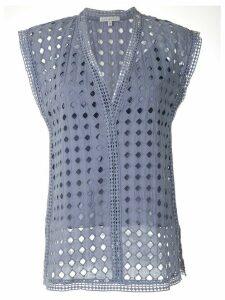 Alcaçuz Marsala blouse - Blue