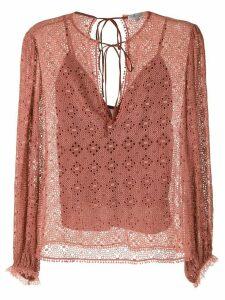 Alcaçuz Manobra blouse - PINK