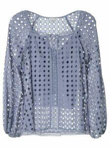 Alcaçuz Miragem blouse - Blue