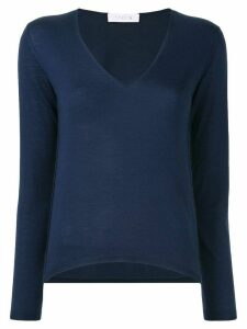 Cruciani V-neck jumper - Blue
