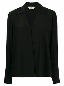 Fendi buttoned blouse - Black