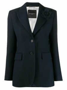 Ermanno Scervino single-breasted stitch blazer - Blue