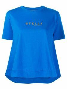 Stella McCartney logo printed T-shirt - Blue