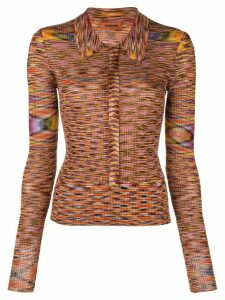 Missoni striped knit shirt - Multicolour