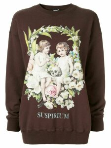 Undercover graphic print sweatshirt - Brown
