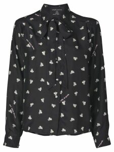 Marc Jacobs x Magda Archer The Silk shirt - Black