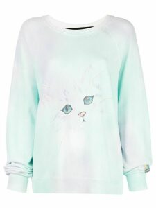 Marc Jacobs The Airbrushed sweatshirt - Blue