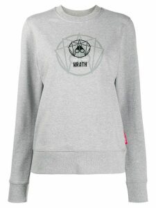 Moose Knuckles embroidered logo sweatshirt - Grey