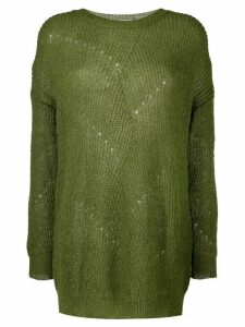 L'Autre Chose round-neck sweatshirt - Green