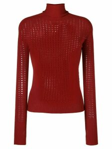 L'Autre Chose turtle neck sweatshirt - Red
