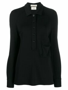 Bottega Veneta flap pocket shirt - Black