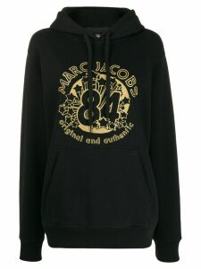 Marc Jacobs loose-fit logo hoodie - Black