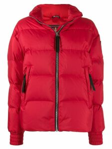 Moose Knuckles panelled puffer jacket - Red