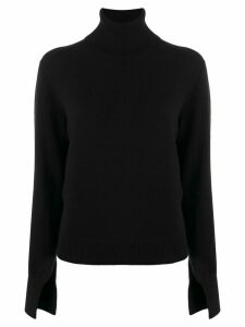 Chloé turtleneck knitted jumper - Black