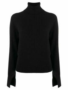 Chloé turtleneck knitted jumper - Black