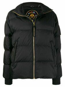 Moose Knuckles Ellie panelled puffer jacket - Black