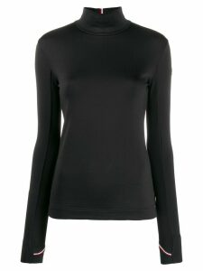 Moncler Grenoble fitted turtleneck jumper - Black