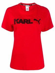Puma x Karl Lagerfeld printed T-shirt - Red