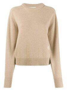 Chloé cashmere crew-neck jumper - NEUTRALS