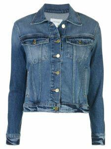 FRAME slim-fit denim jacket - Blue