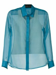 Gloria Coelho silk shirt - Blue