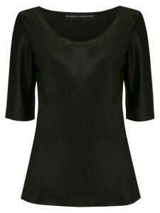Gloria Coelho satin blouse - Black