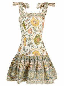 Zimmermann paisley dress - NEUTRALS