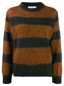 Roseanna striped knit jumper - Brown