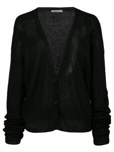 Mes Demoiselles Shym ribbed-knit cardigan - Black