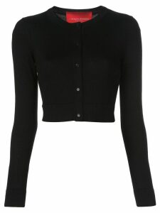 Carolina Herrera cropped button-down cardigan - Black