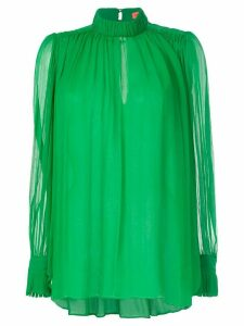 Manning Cartell lightweight crinkle blouse - Green