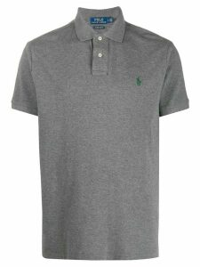 Polo Ralph Lauren contrast logo polo shirt - Grey