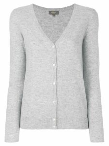 N.Peal V-neck cardigan - Grey