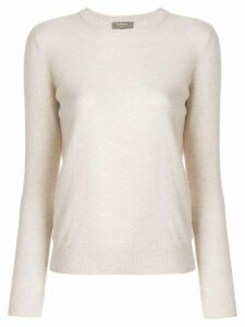 N.Peal round neck sweater - NEUTRALS
