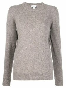 Sunspel crew neck jumper - NEUTRALS