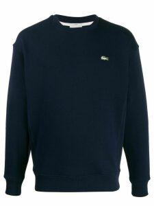 Lacoste Live fleece logo sweatshirt - Blue