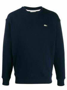 Lacoste Live fleece logo sweatshirt - Blue