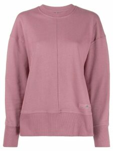 adidas by Stella McCartney Athletics side-slit sweatshirt - PINK