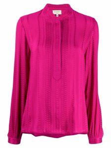 Zeus+Dione Hera jacquard shirt - PINK