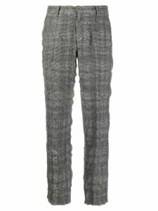 Sueundercover high rise houndstooth trousers - Grey