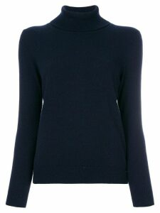 N.Peal cashmere roll neck sweater - Blue