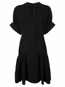 Proenza Schouler Crepe Short Dress - Black