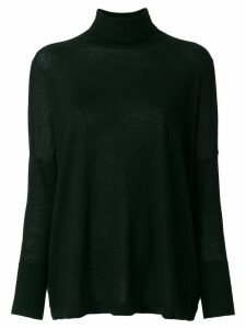 N.Peal superfine oversize jumper - Black