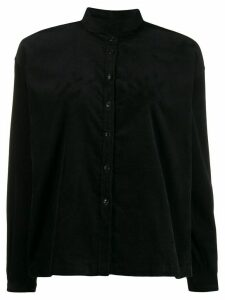 YMC plain boxy shirt - Black