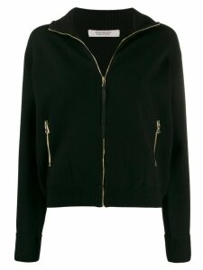 Dorothee Schumacher zipped long-sleeve cardigan - Black