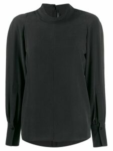 Joseph Laurrel silk toile blouse - Black