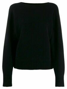 Vince Dolman cashmere jumper - Black