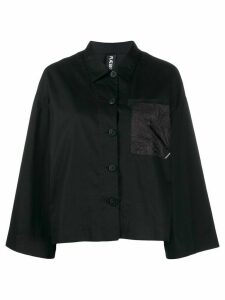 Raeburn parachute pocket shirt - Black