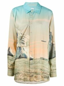 Ambush Iceberg print shirt - Blue