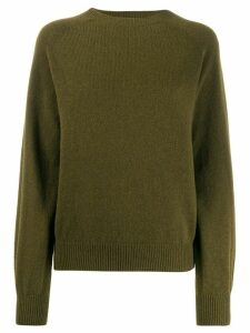 Sunspel crew neck jumper - Green